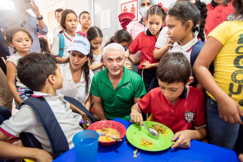 Vancouver Sun — Frank Giustra: Seeing the Venezuelan refugee crisis up close and personal